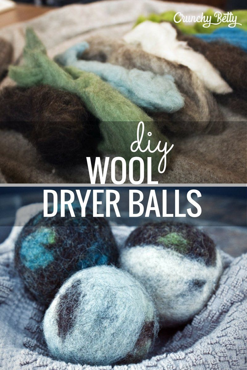 How To Make Felted Wool Dryer Balls Wool Dryer Balls Dryer