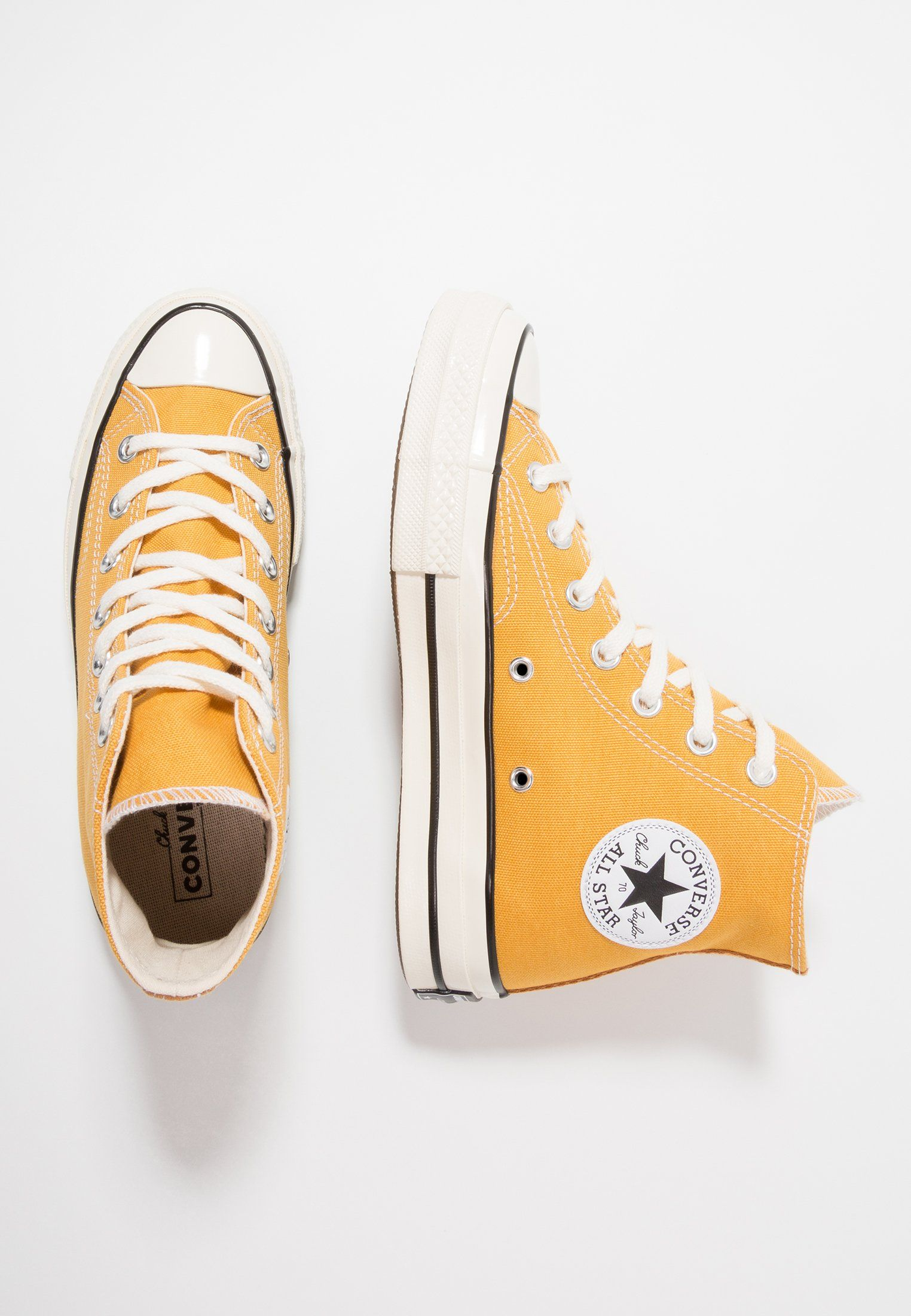 e284502bb00f12 CHUCK TAYLOR ALL STAR  70 HI - High-top trainers - sunflower black ...