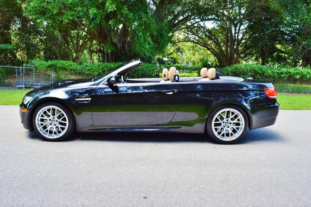 2010 Bmw M3 M Series Convertible Power Hardtop Bmw 2010 Bmw M3