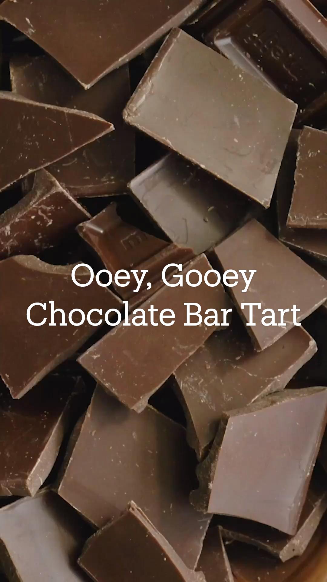 Chocolate Bar Tart