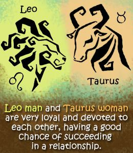 Taurus man and leo woman sexual compatibility