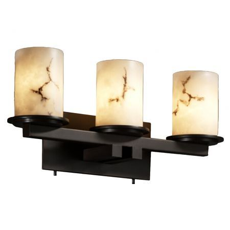 Bring a chic finishing touch to your master suite or guest bathroom with this eye-catching vanity light, artfully crafted for lasting appeal.