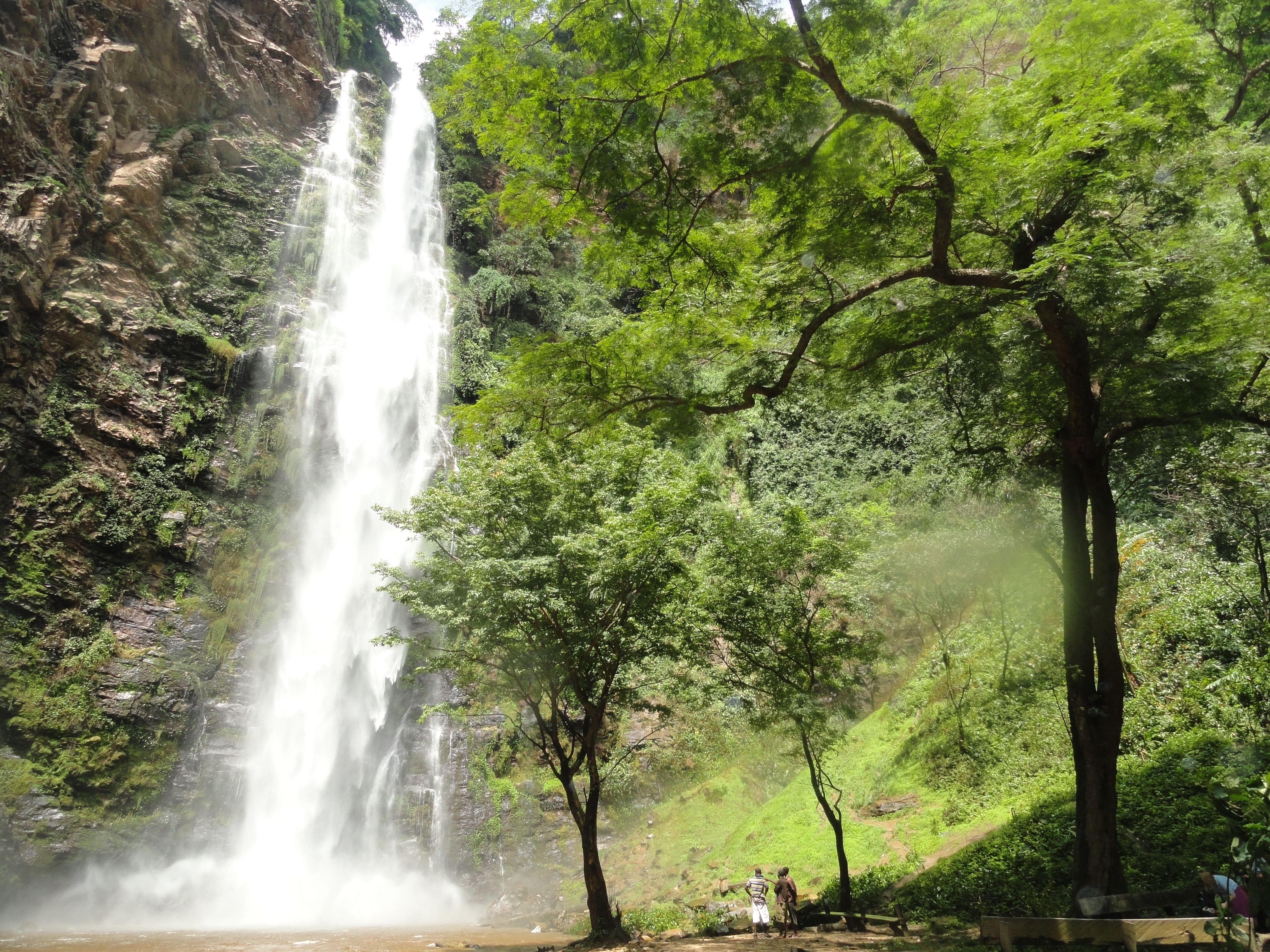 Wli Waterfalls Near Hohoe Ghana Waterfall Beautiful Sites Travel Abroad