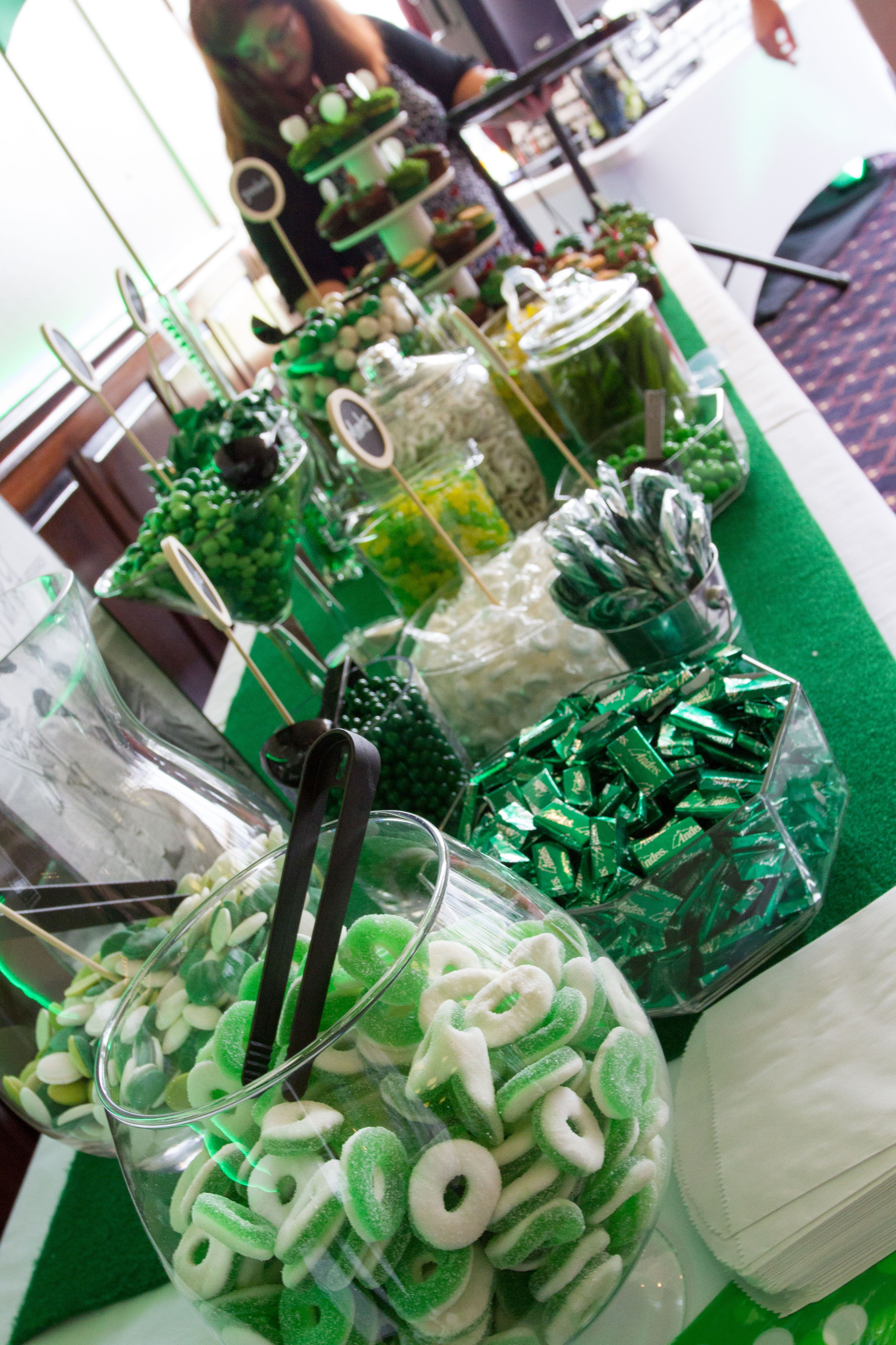 Golf Themed Candy Buffet Golf Party Favors Golf Party
