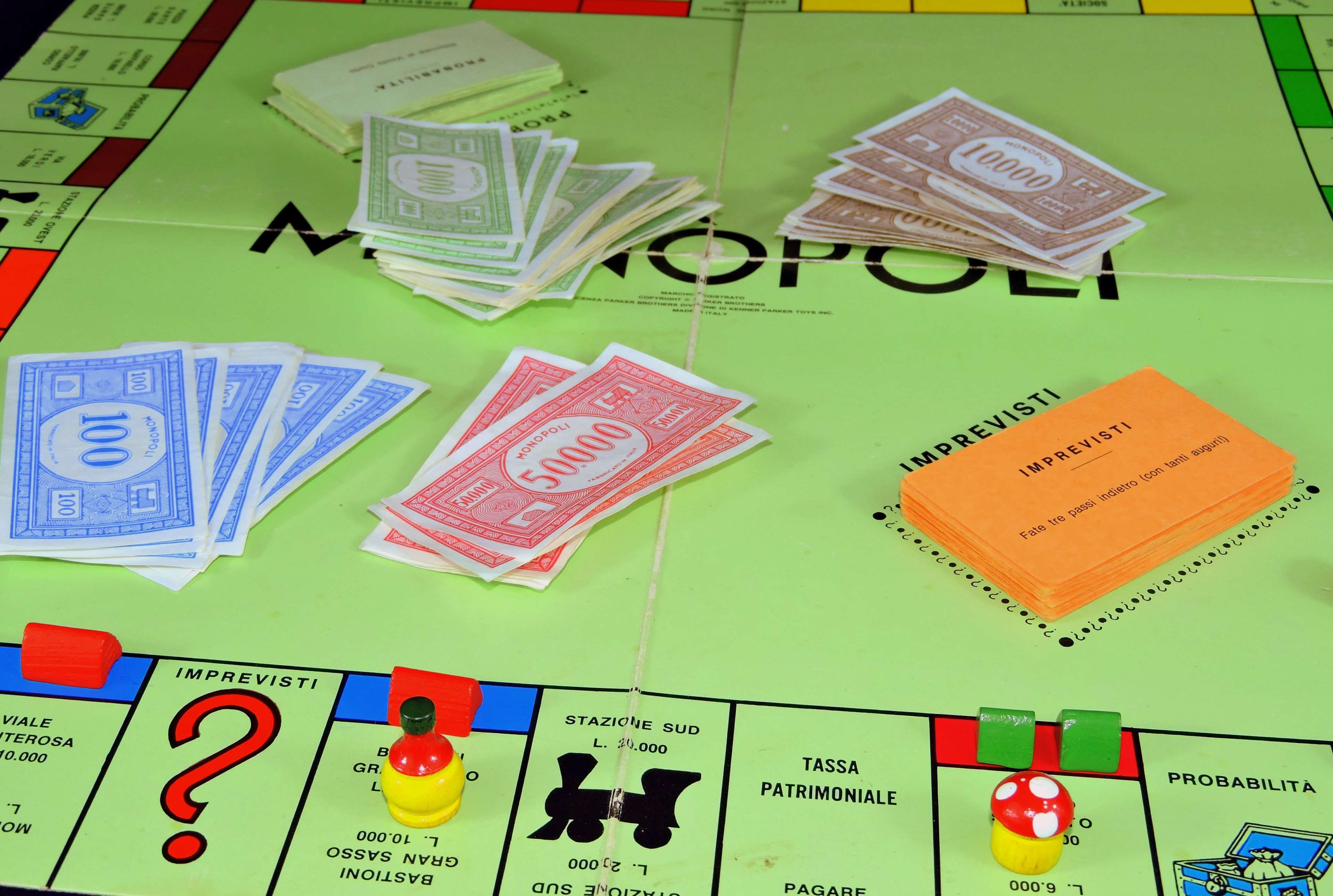 #board game #buildings #hotels #houses #money #monopoly #pastime #play #trade #unexpected