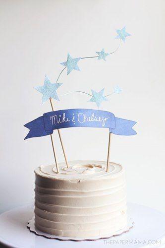 decorazioni torte di compleanno cake toppers Torte Pinterest