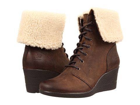 Womens Boots UGG Zea Stout Leather