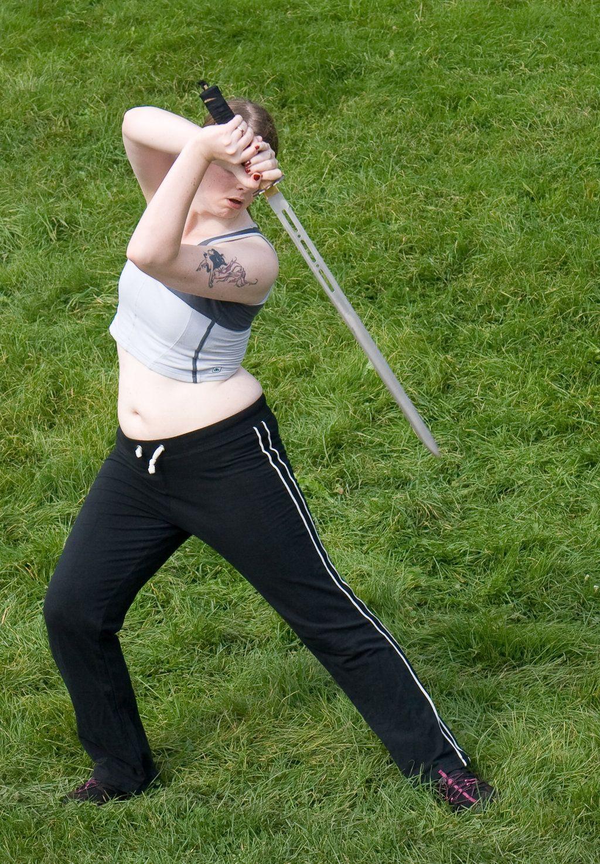 Sword pose stock 31 by Random-Acts-Stock on DeviantArt