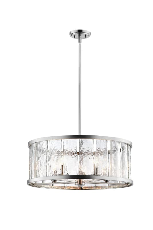 Lite Source El 10174 Glennis 5 Light 24 1 2 Wide Drum Chandelier