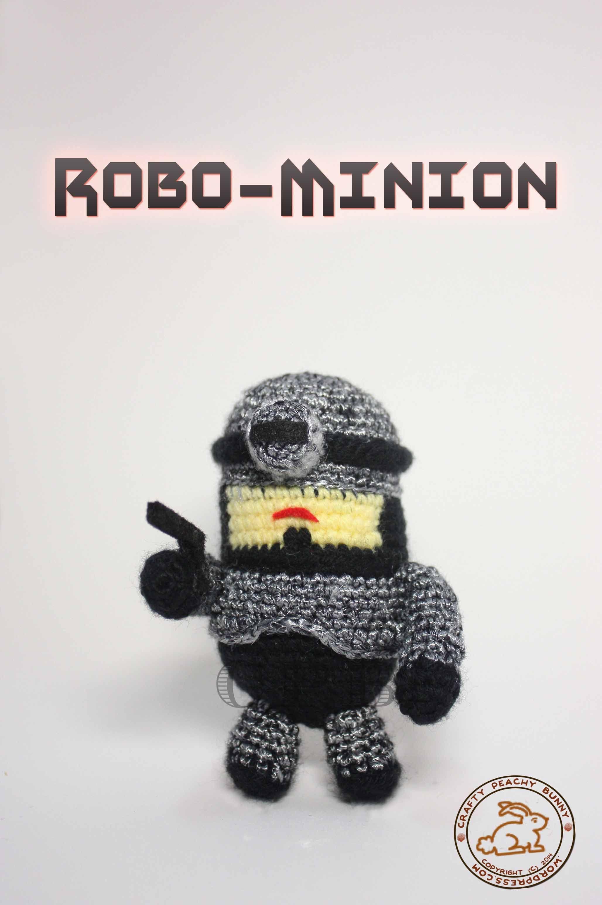RoboMinion | Minions minions, Crochet dolls and Crochet