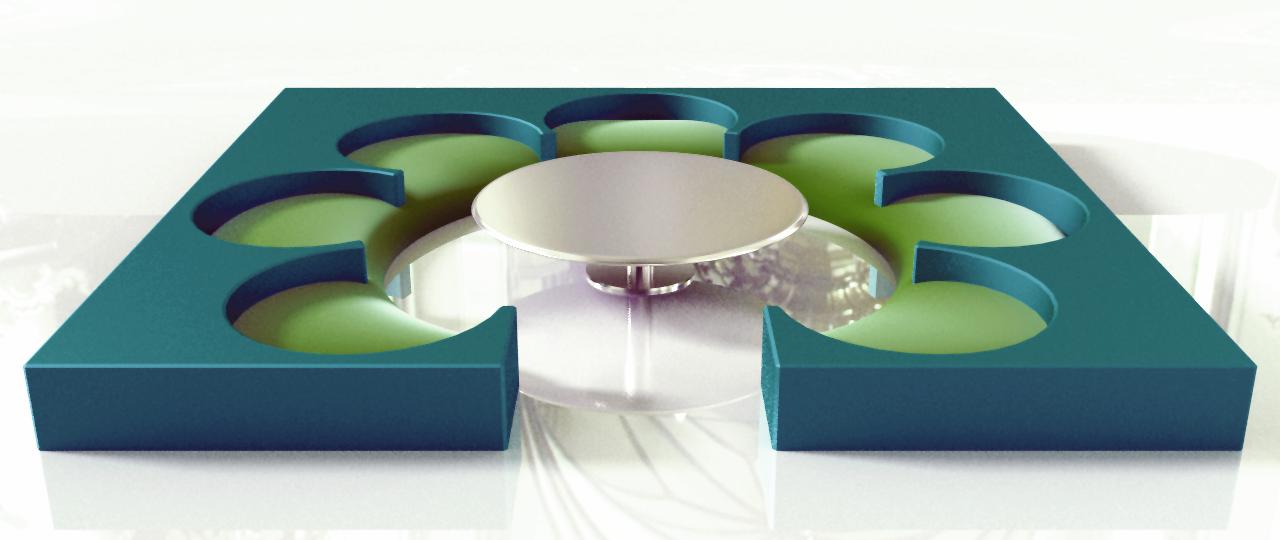 Circular Couch [Architecture - Furniture]