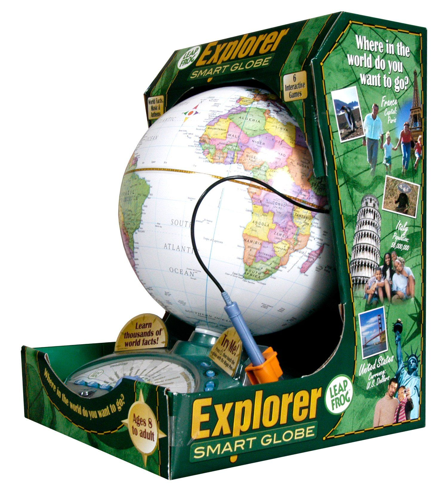 Amazon leapfrog explorer smart globe toys games globes amazon leapfrog explorer smart globe toys games gumiabroncs Image collections