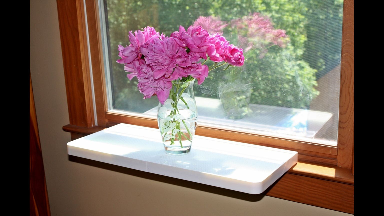 Plant One On Us Is A Windowsill Extender For Plants Pets Or Anything You Want To Put On Your Windowsill Window Sill Window Sill Decor Space Savers