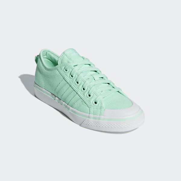Nizza Low Shoes Clear Mint Clear Mint Crystal White