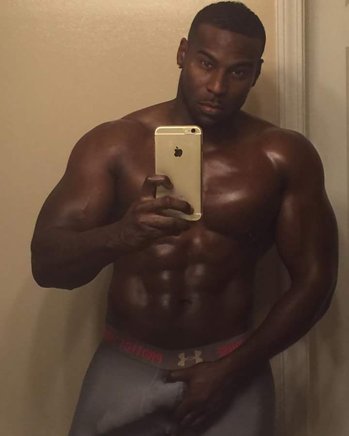 Black muscle stripper