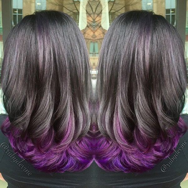 Top 20 Choices To Dye Your Hair Purple Ombre Hair