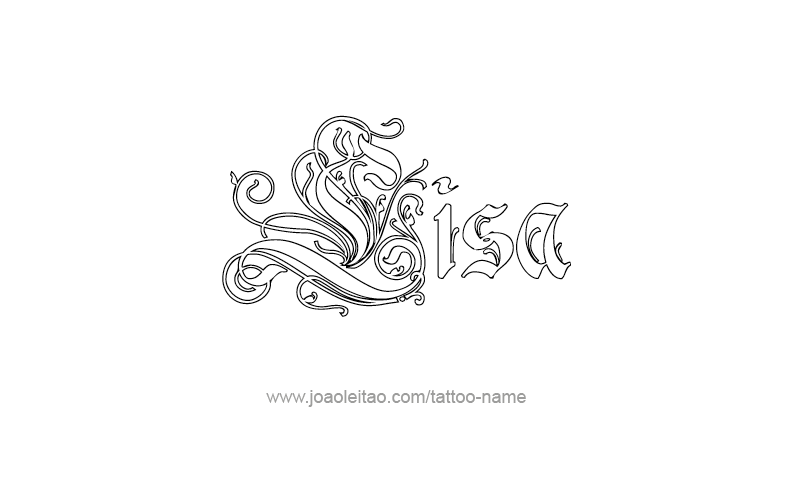 Lisa Name Tattoo Designs Lisa Name Name Tattoo Designs Name Tattoos