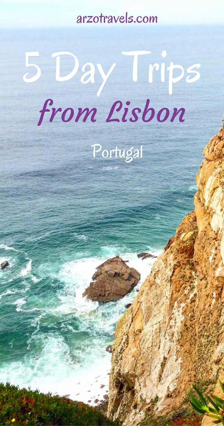 5 day trip ideas from Lisbon (other than Sintra), Portugal. Europe