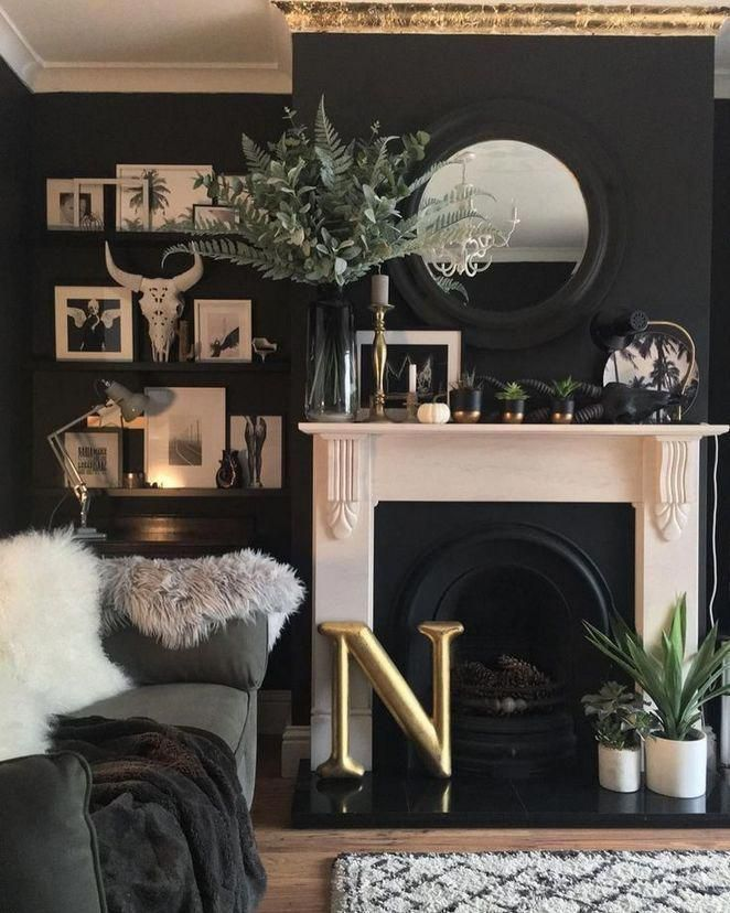 A Dark living room- first of all: Don't be afraid! Instead of being afraid welcome smoky and dramatic hues to highlight your real cozy, elegant and intensive room!#luxury #interiordesign #modernhomedecor #midcenturylighting #uniquedesignideas #homedecor #interiordesignideas #livingroomdesign #livingroomideas #modernlivingroom #maximalistdecor #BeachHomeDecor