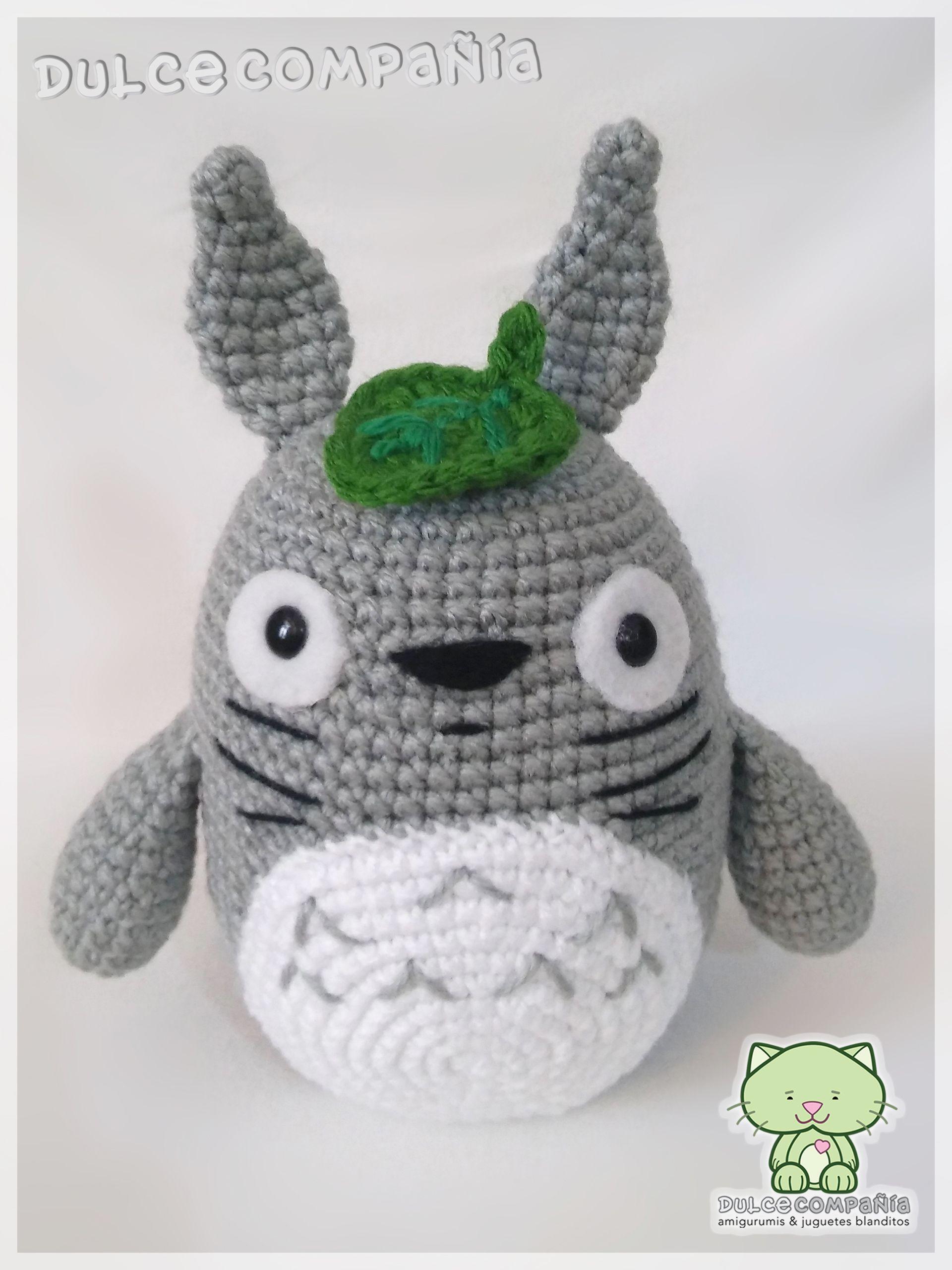 Totoro #mivecinoTotoro #myneighbourTotoro #amigurumi #crochet ...