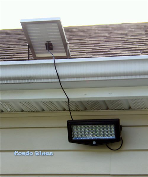How to install a solar security light solar security light solar how to install a solar security light mozeypictures Image collections