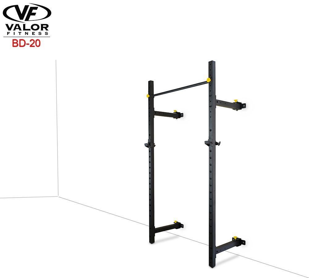 Valor Fitness Benches Valorpro Wall Mount Foldable Squat Rack Bd 20 Squat Rack Wall Mount Foldables