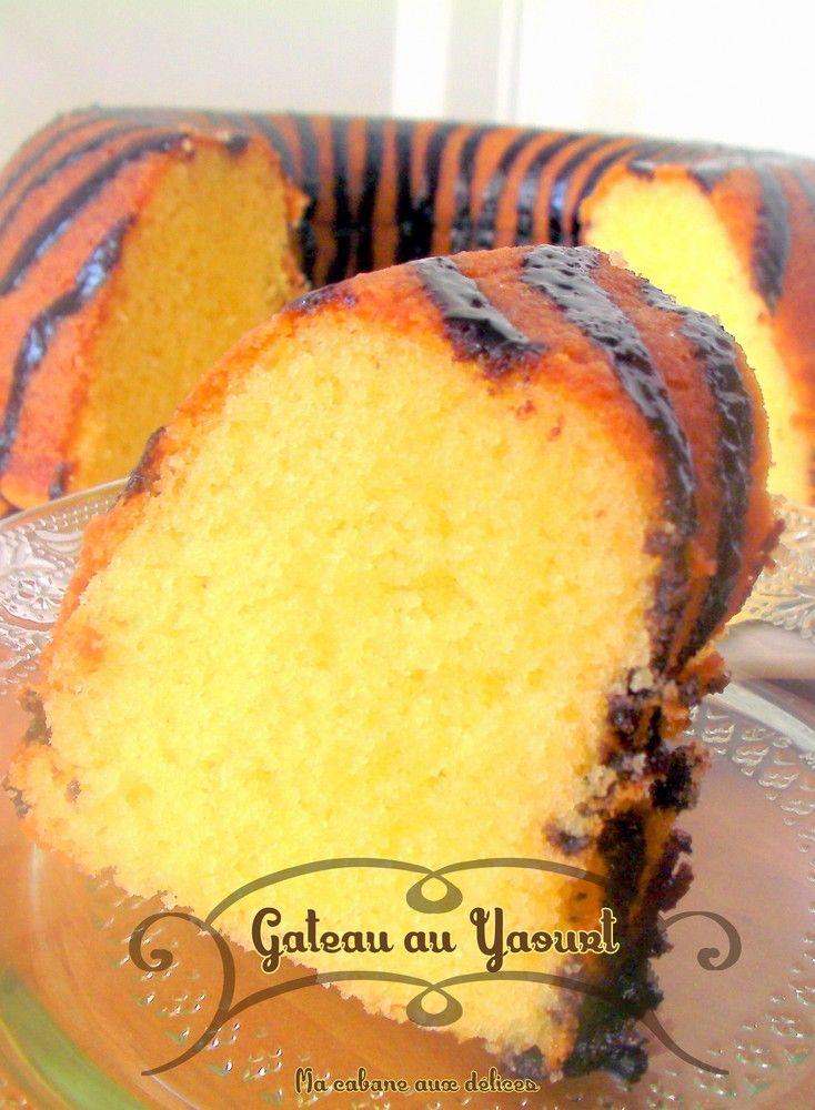Gâteau au yaourt sans huile facile Patisserie, Cake and Brioche
