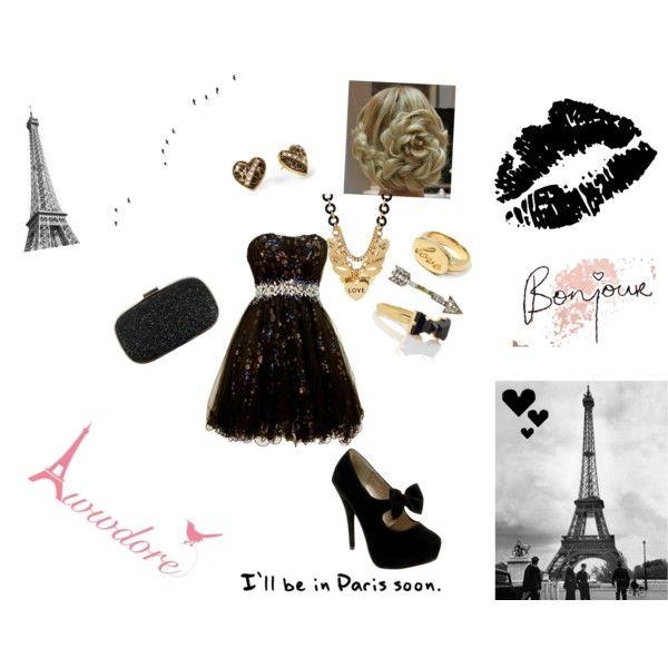 """""""Paris Love"""" by hannah-grace-1 on Polyvore"""