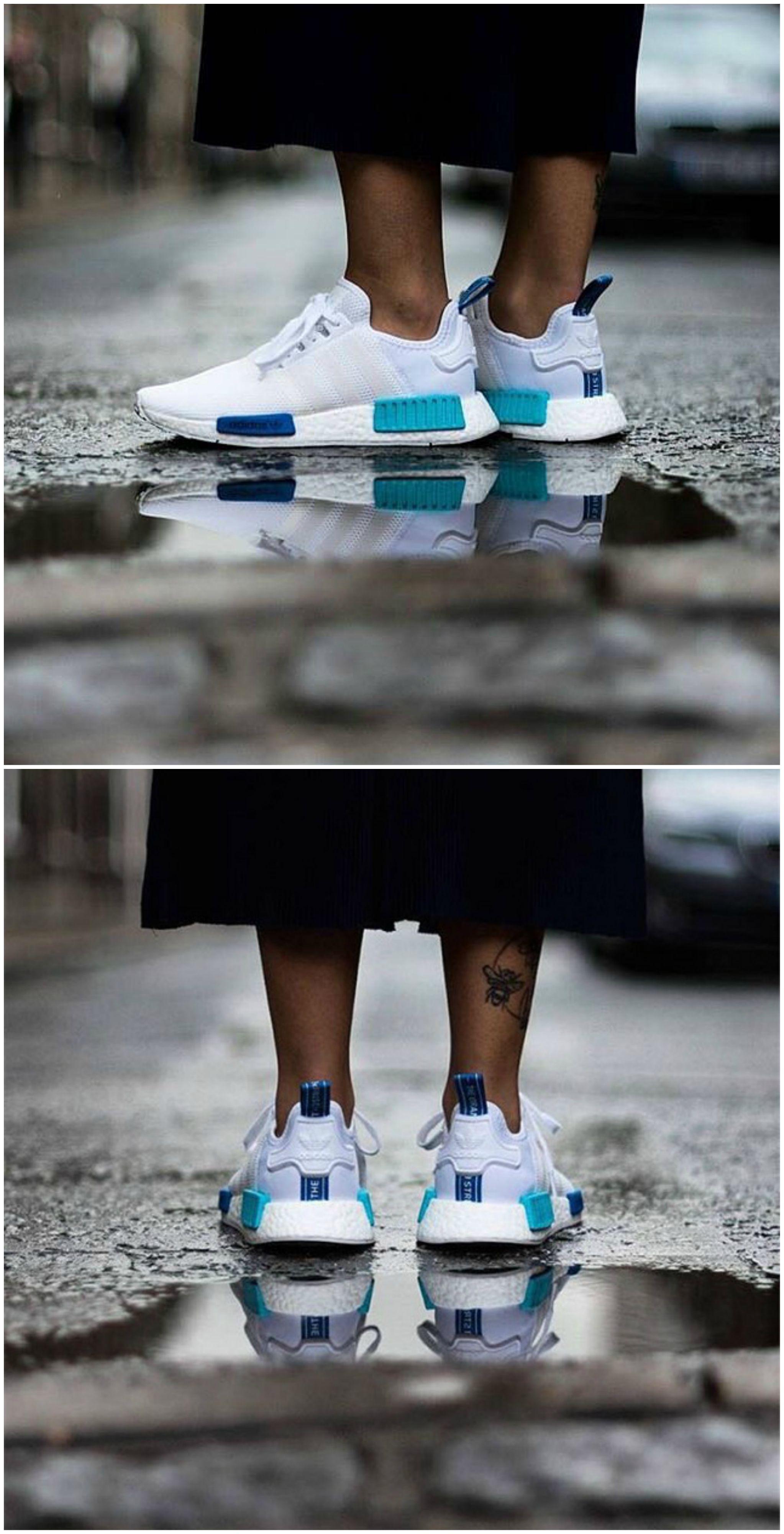 Adidas NMD Primeknit Tricolor, Men's Fashion, Footwear