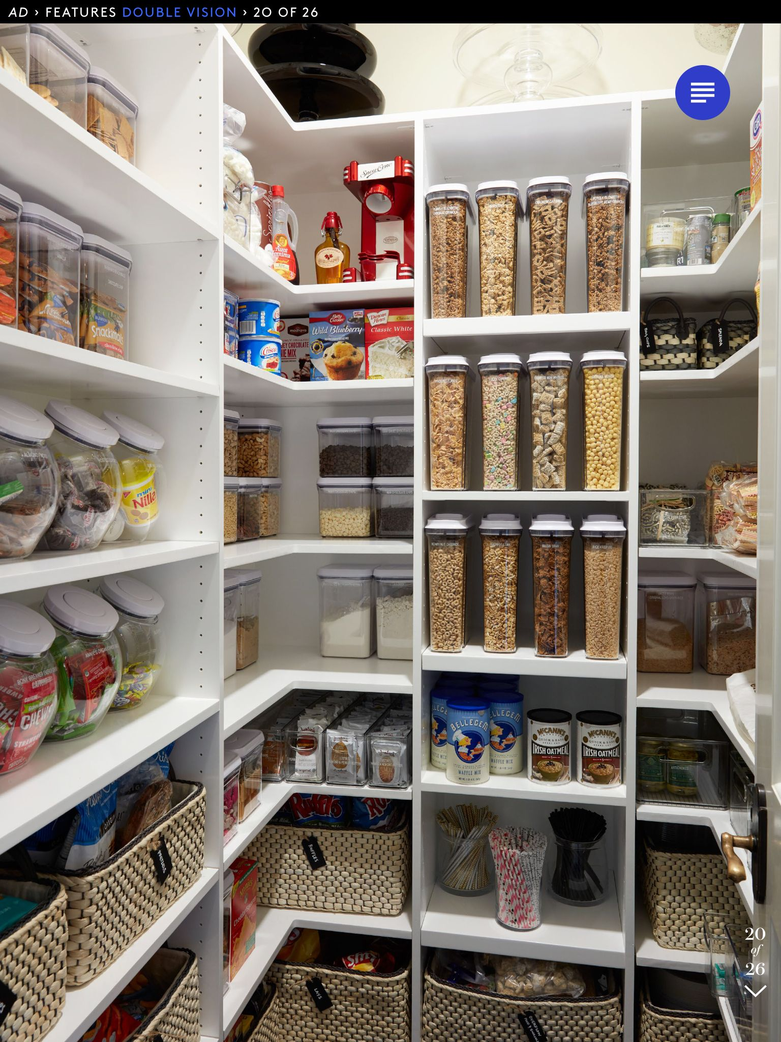 organizing the kitchen pantry organized pantry khloe kitchen pantry 3802