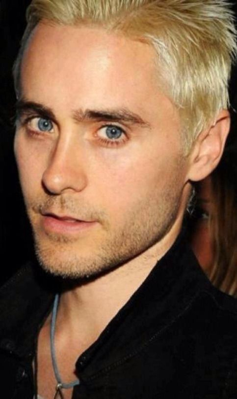 Jared Leto With Images Jared Leto Blonde Jared Leto Shannon Leto