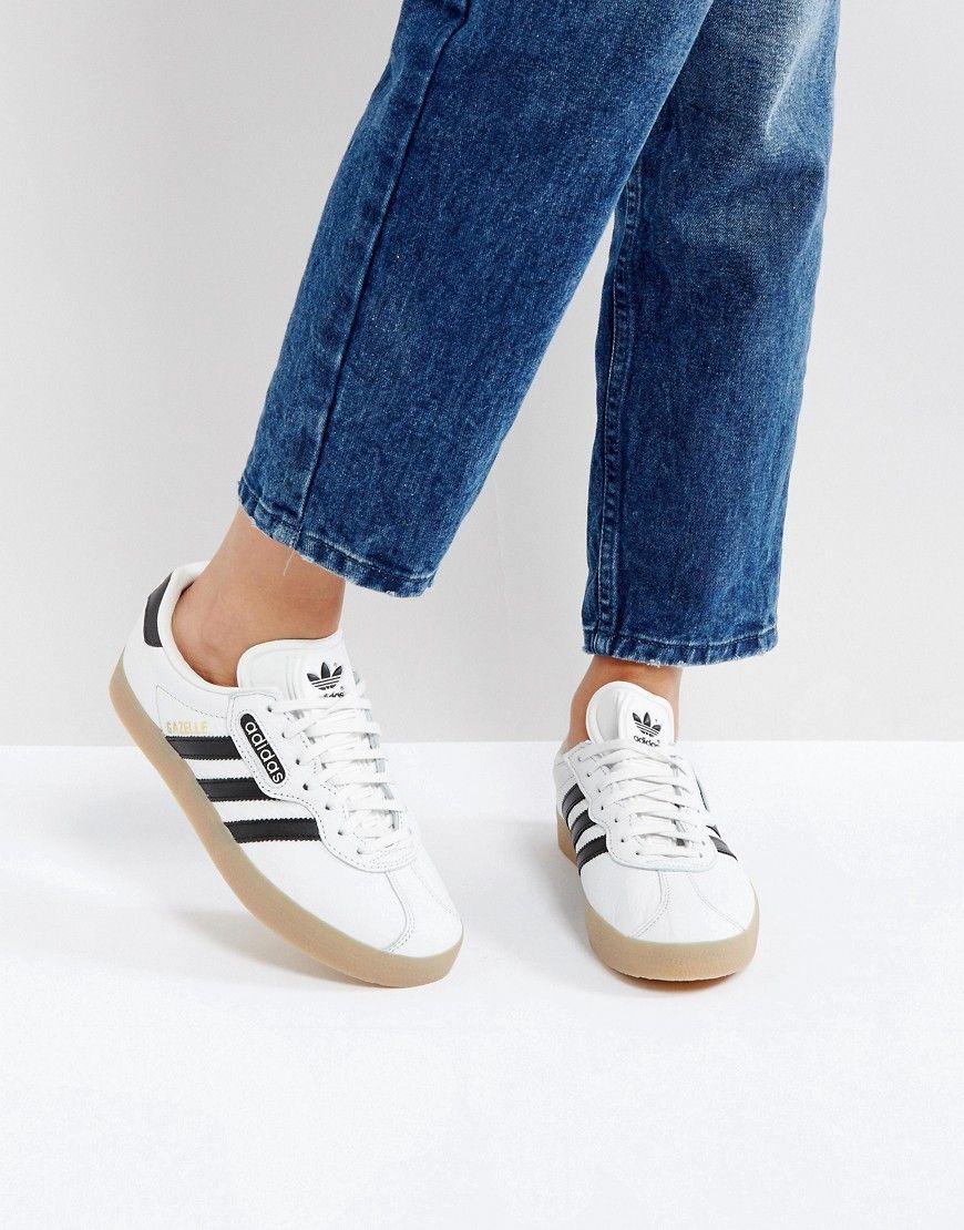 adidas Originals White Gazelle Super
