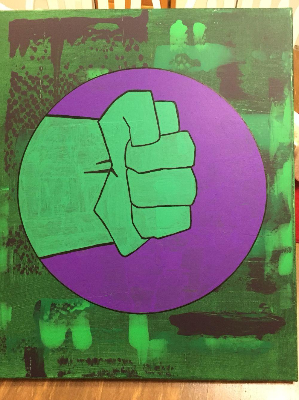 Hulk abstract