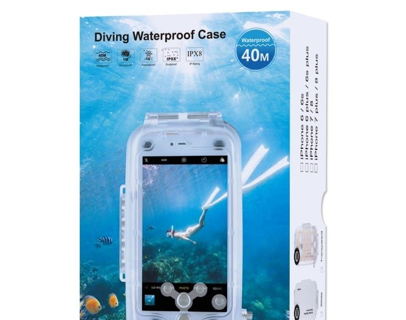 low priced 17b62 c6590 Discount !! For iPhone 7 Plus Case 40m/130ft Underwater Camera ...