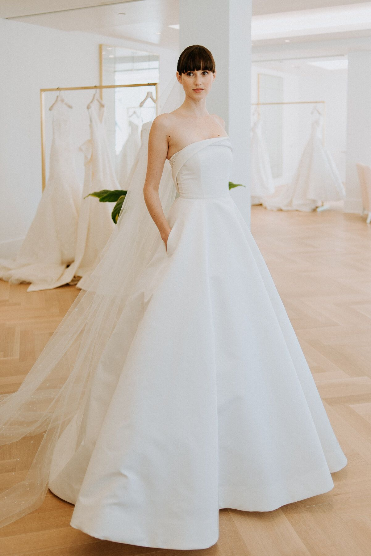 Carolina Herrera Fall 2020 - Michaela - $9,990 #bridalshops