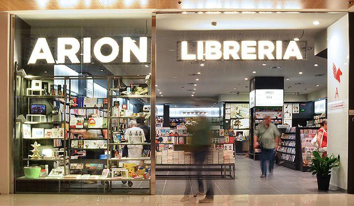 Arion librerie by studio algoritmo rome italy store design