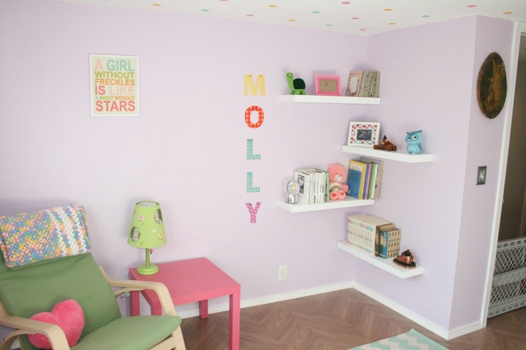 Baby Room Ideas And Childrenu0027s Party Themes   Project Nursery. Corner  ShelvingCorner ...