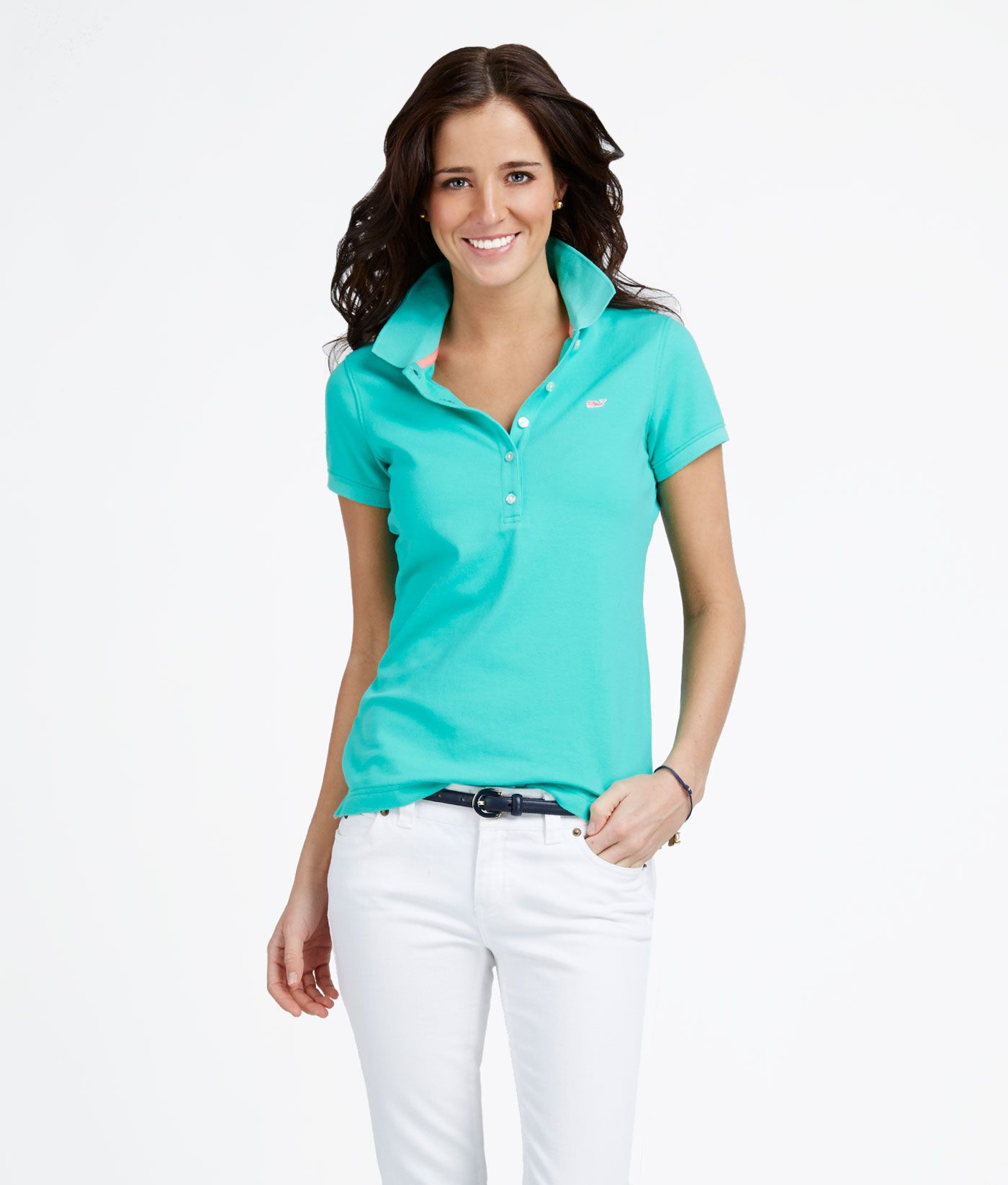 d829a9252a Women s Polo Shirts  Shoreline Short-Sleeve Polo for Women - Vineyard Vines