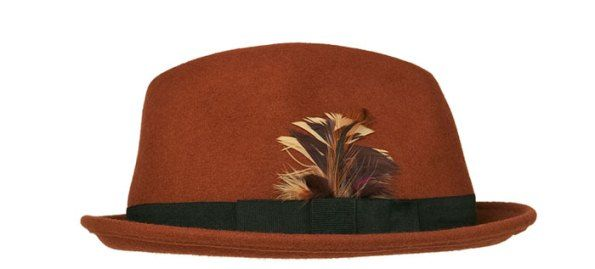 a61c352f82931 Zara chapeau plume (Homme) 16.95€ | chapeau d'hommes | Chapeau homme ...