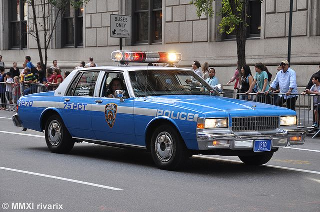 049 Columbus Day Parade Nypd Police Cars Old Police Cars Us Police Car