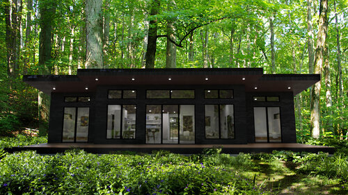 Minimalist House Plans — THE small HOUSE CATALOG