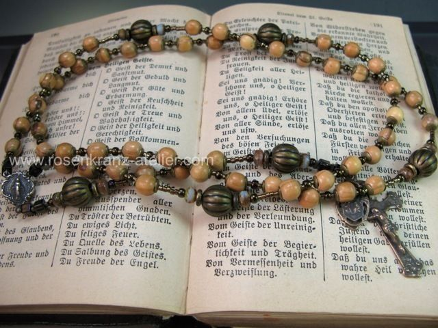 St.Joseph Rosary with olive wood