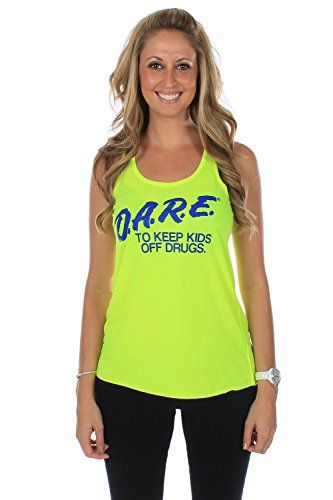 6a1a3b3051ff3 X80 DARE Neon Yellow Crop Top Womens XSmall     Click on the image for  additional details.Note It is affiliate link to Amazon.