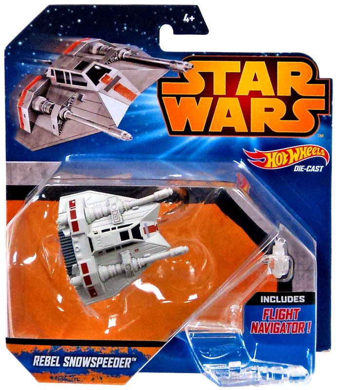 Hot Wheels Star Wars Rebel Snowspeeder Die-Cast Vehicle MATTEL