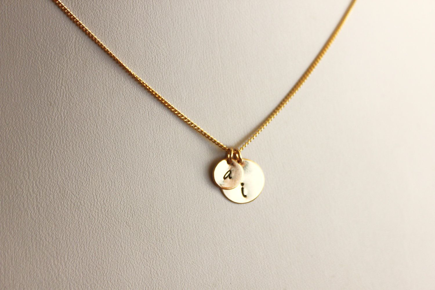 Double initial necklace from taylormoseley i want one is gold and double initial necklace from taylormoseley i want one is gold and one in silver mozeypictures Images