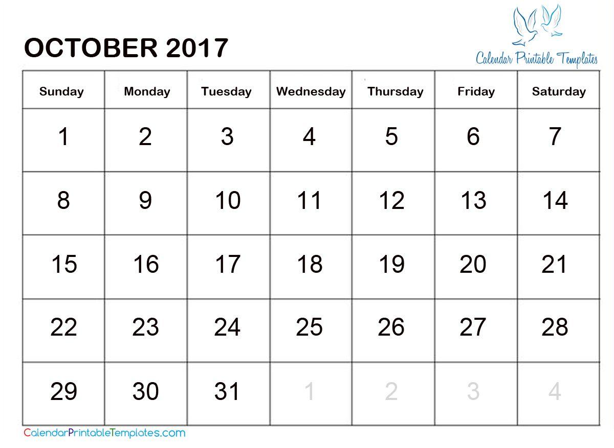 calendar html template