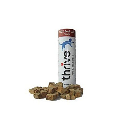 Thrive Cat Beef Treats 35g Pack of 4 * Read more at the