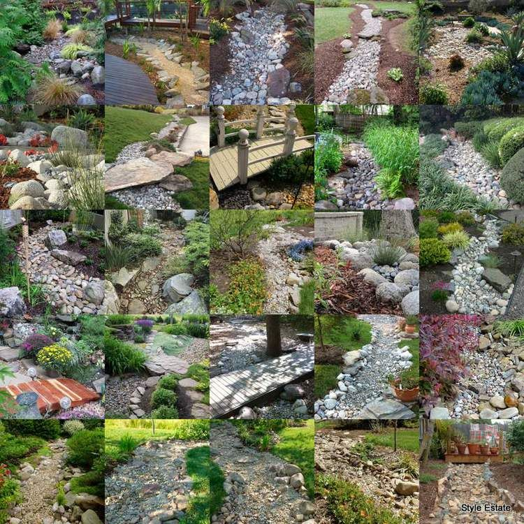 15 Incredible Front Yard Rock Garden Landscaping Ideas You: 25 Gorgeous Dry Creek Bed Design Ideas
