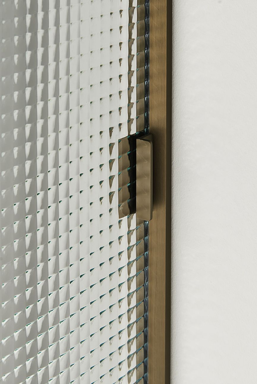 Textured Glass Door | SHERAZADE, Sliding And Swing Doors Collection,  Designed By Piero Lissoni | Www.glasitalia.com