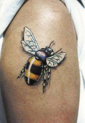 Find Pictures For Bee Tattoo Ideas On Creatives Men Women A Great Range Of